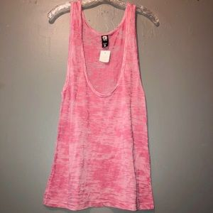 NWT Alternative Vintage Soft Racerback Tank SZ L